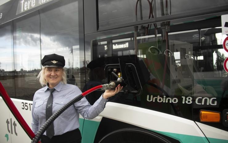 FOTOD JA VIDEO! Pealinna uus ajastu: surugaasibussid lähevad juba sel nädalal liinile