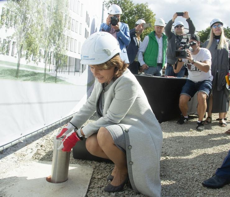FOTOD JA VIDEO! Põhja-Tallinnas sai nurgakivi tulevane kogukonnakeskus