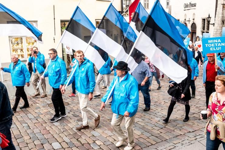 VIDEO JA GALERII! Tallinnas toimus Elu marss