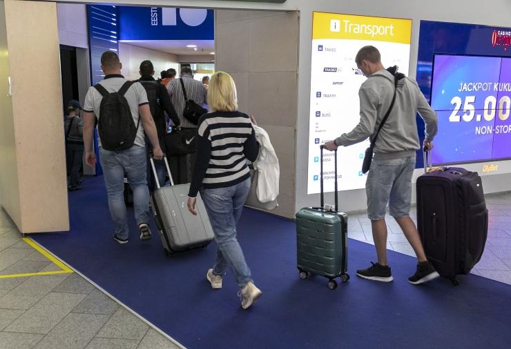 VIDEO! Terviseamet: sadam ja lennujaam tõstavad Tallinnas nakatumisriski