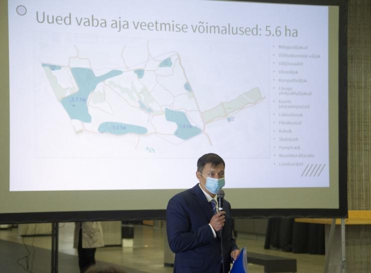 FOTOD JA VIDEO! Lasnamäele rajatakse roheline Tondiraba park