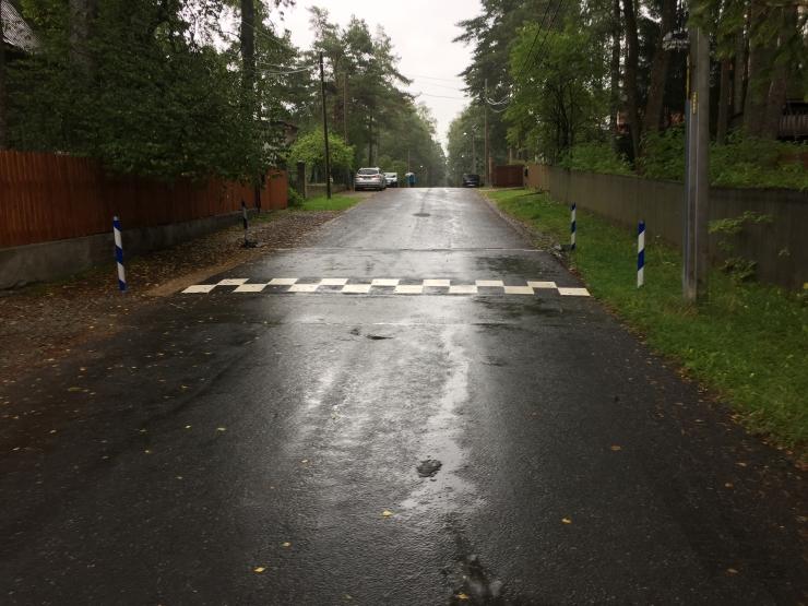 Nõmme tänavatel tõsteti liiklusturvalisust uute teekünnistega