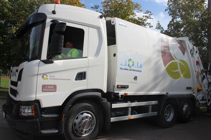 Lasnamäel ja Põhja-Tallinnas algab novembrist korraldatud jäätmevedu