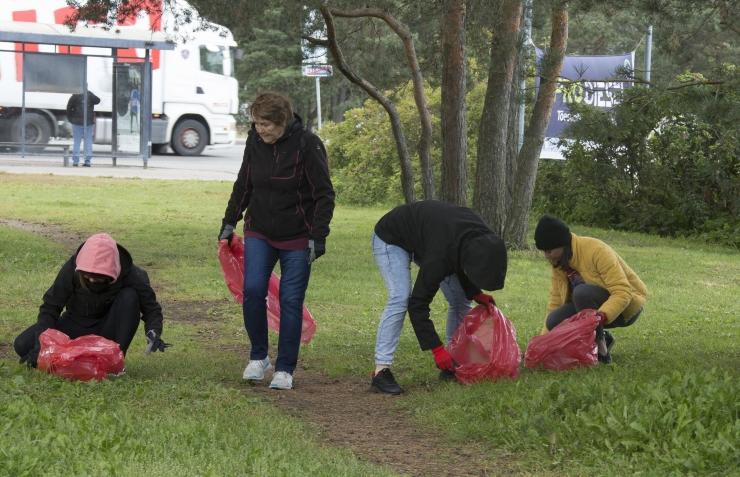 Rocca al Mare keskus kutsub inimesi koristuspäeval osalema