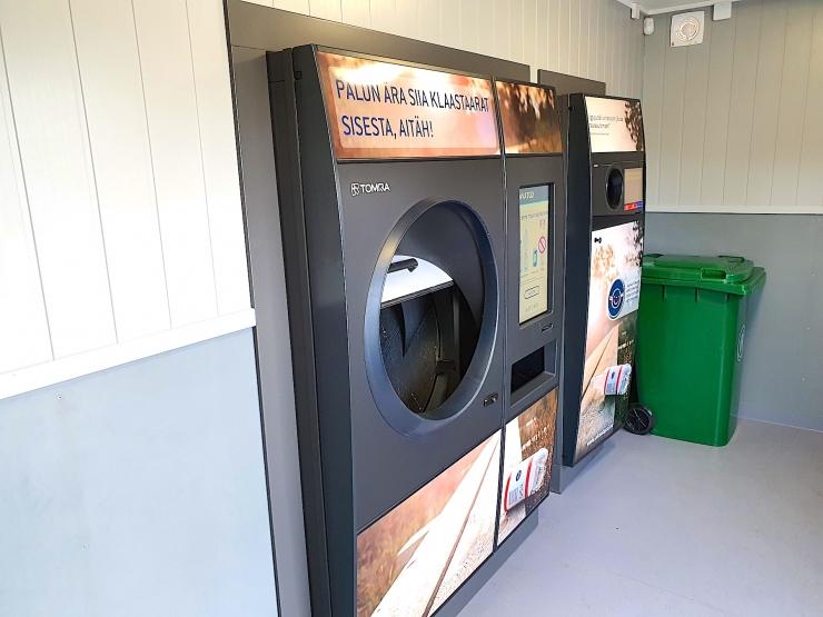 Kadaka Selveris hakkas tööle esimene uue põlvkonna taaraautomaat