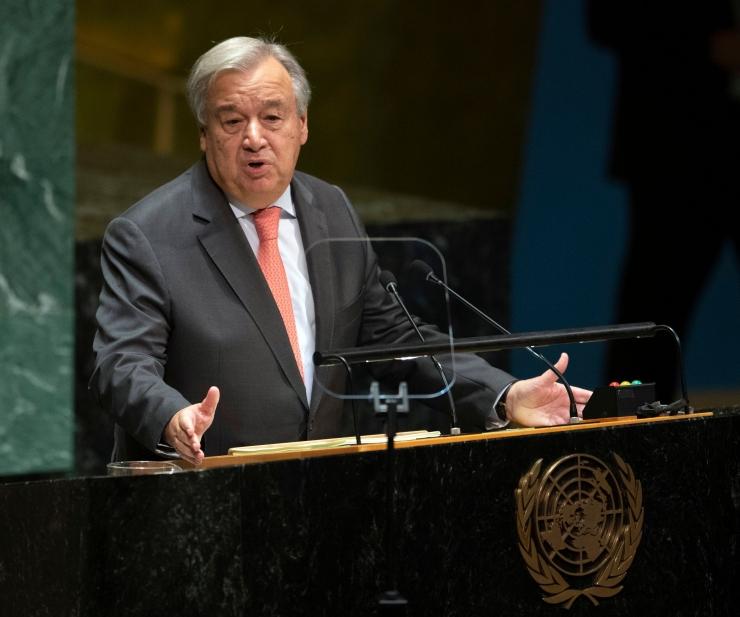 ÜRO peasekretär kutsus ennetama uut külma sõda