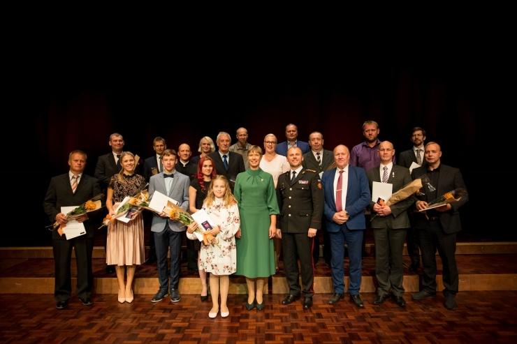 Päästeamet tunnustas aumärgiga 112 inimest