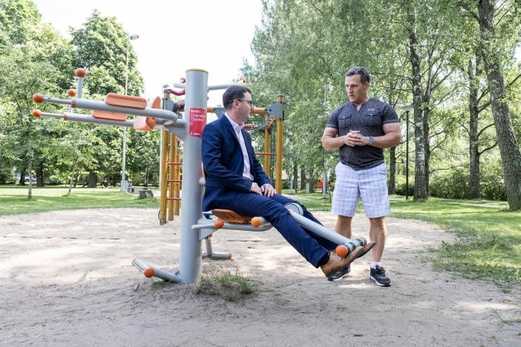 Riibe: Kristiines suurenevad võimalused tasuta õues sporti teha