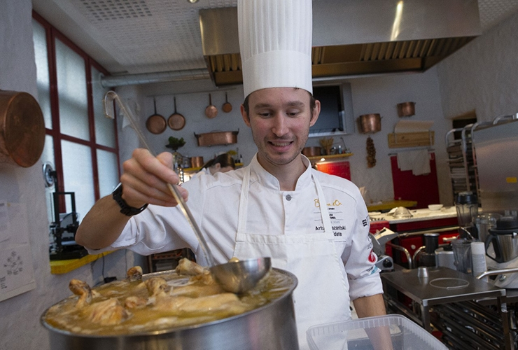 TIPPKOKK ARTUR KAZARITSKI: Hea toit on see, mis sunnib võtma järjest uusi suutäisi