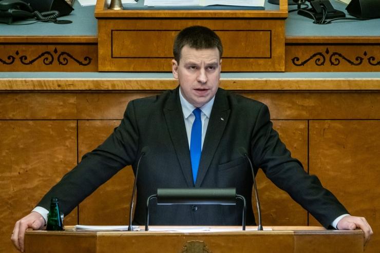 Ratas esitas riigikogule Eesti arengustrateegia 2035. aastani