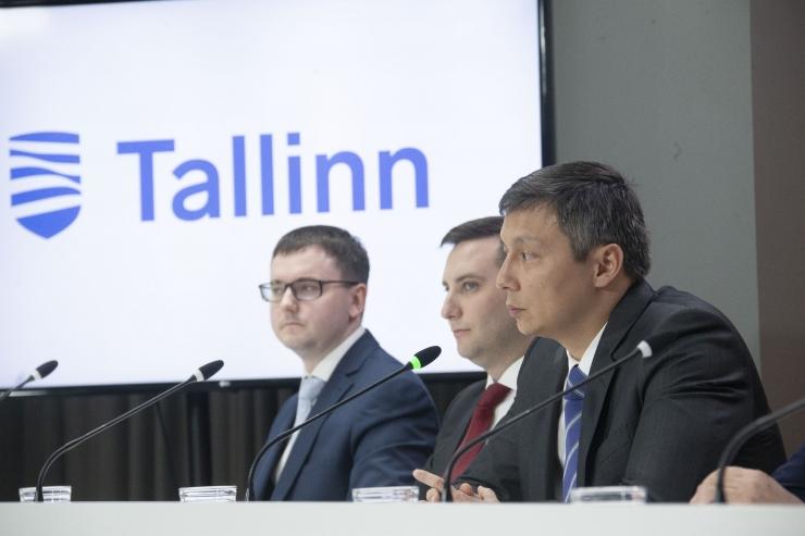 VAATA OTSE KELL 12! Tallinna linnavalitsuse pressikonverents