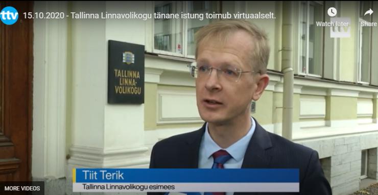 VIDEO! Tallinna Linnavolikogu pidas istungi virtuaalselt
