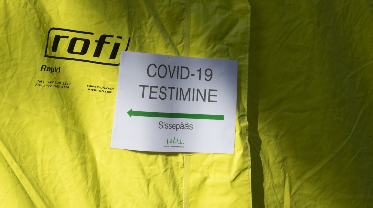 Ööpäevaga lisandus 37 positiivset testi, neist 13 Tallinna