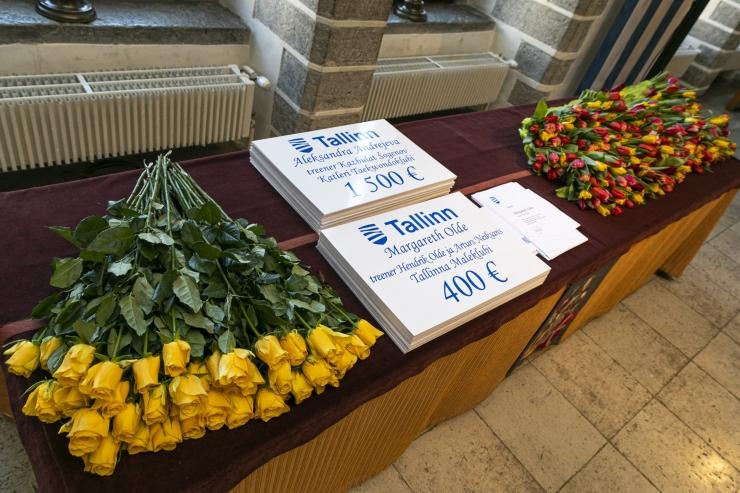 Tallinn tunnustab ja toetab tallinlastest sportlasi 4700 euroga