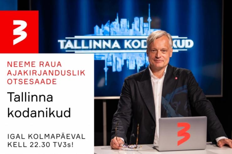 """TÄNA TV3 EETRIS """"TALLINNA KODANIKUD"""": tuline debatt Aivar Riisalu ja Kristen Michali vahel!"""