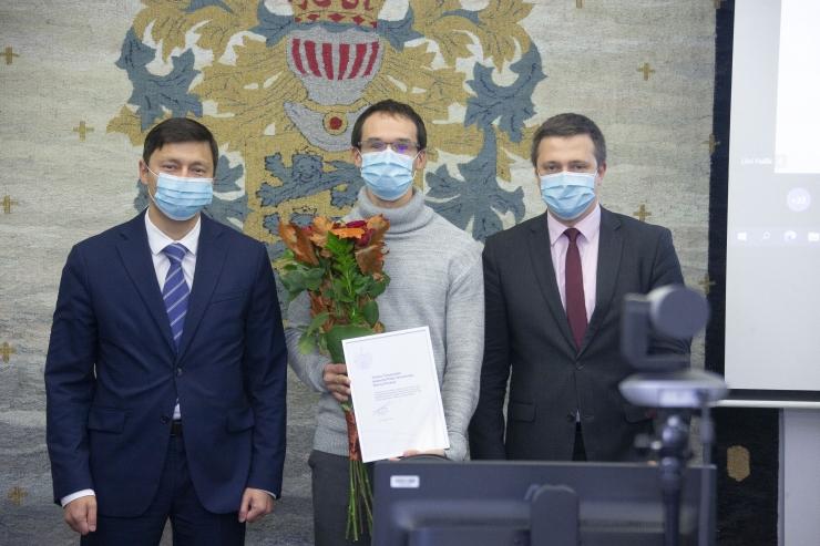 Tallinn tunnustas Euroopa meistrivõistlustel tipptulemusi saavutanud sportlasi