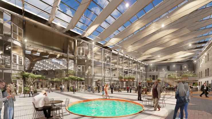 """VIDEO JA PILDID! Patarei Merekindluse arhitektuurikonkursi võitis ideekavand """"Taevakaar"""""""