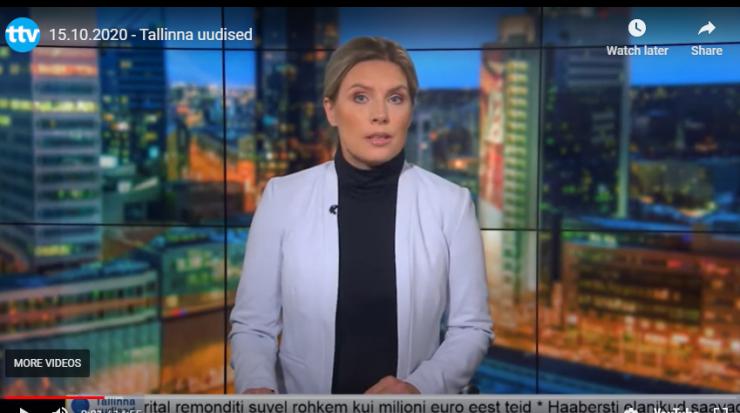 VIDEO! Tallinna uudised 22.10
