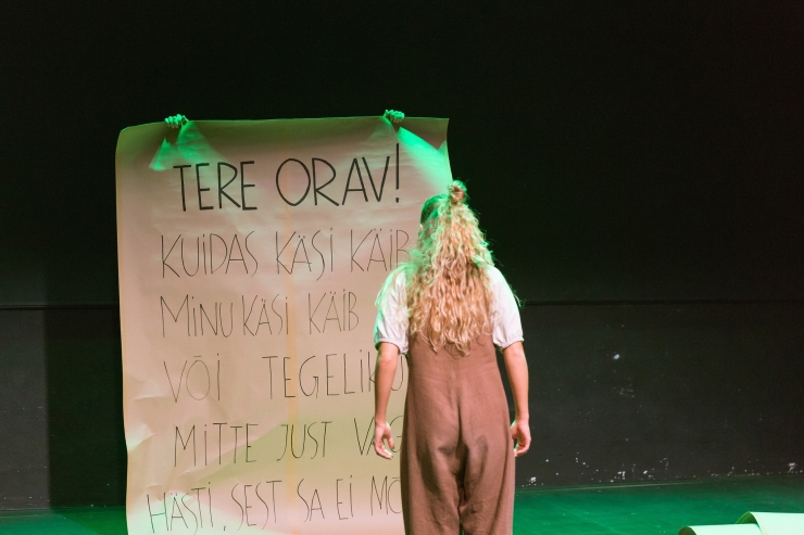 Eesti Noorsooteater ootab paberkirju