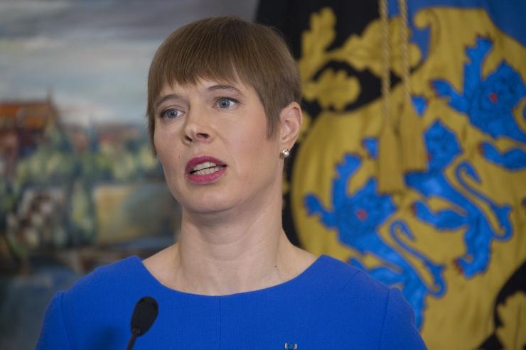 Tartu ülikool autasustab president Kaljulaidi Johan Skytte medaliga