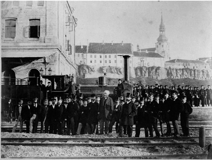 Raudtee ja rongide tulek muutis Tallinna moodsaks tööstuslinnaks