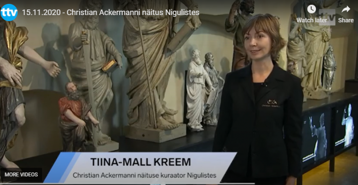 VIDEO! Niguliste näitab barokiajastu skandaalseima kujuri loomingut