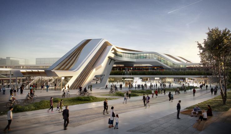Rail Baltica Ülemiste ühisterminali ehituseks läheb järgmisel aastal