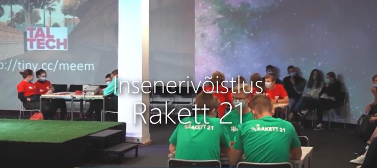 VIDEO! Koolinoorte võistlus Rakett 21 kutsub homseni mõõtu võtma
