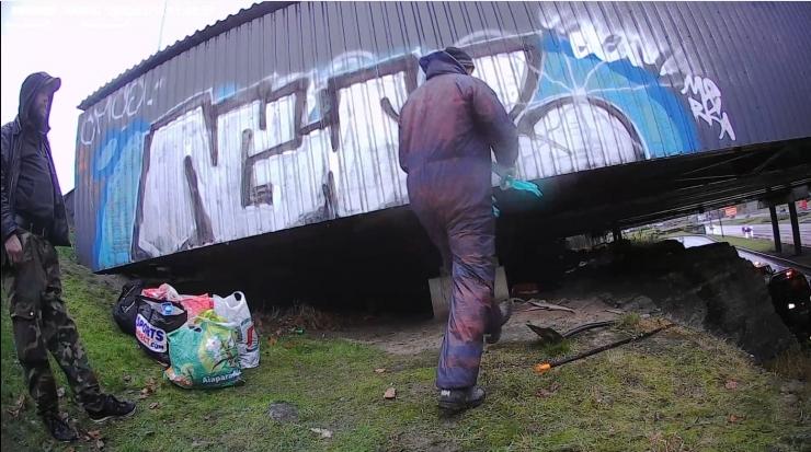 FOTOD! Lasnamäe Smuuli viadukti puhastustöödele tuli kaasata mupo inspektorid
