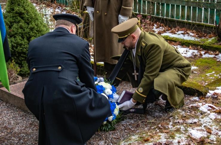 Kaitseväe toetuse väejuhatus tähistas 102. aastapäeva