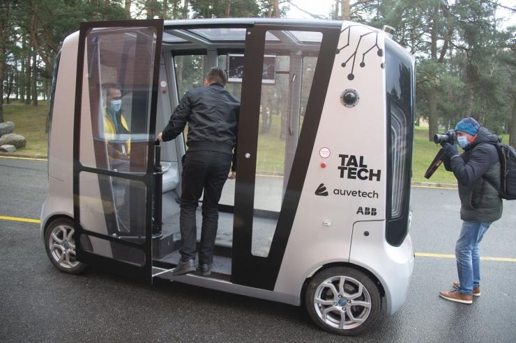 VIDEO! TalTech avas pidulikult iseAuto regulaarliini