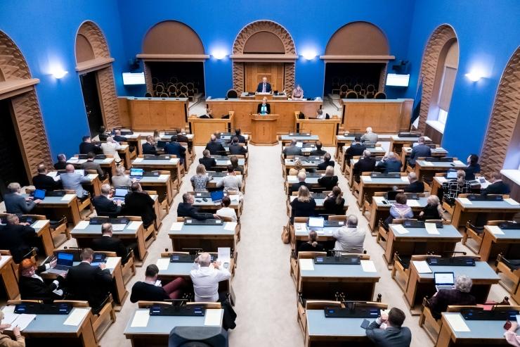 Riigikogu võttis vastu seitse seadust